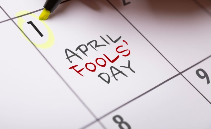 April Fool's Day, which is sometimes referred to as All Fool's Day, is typically celebrated by playing practical jokes