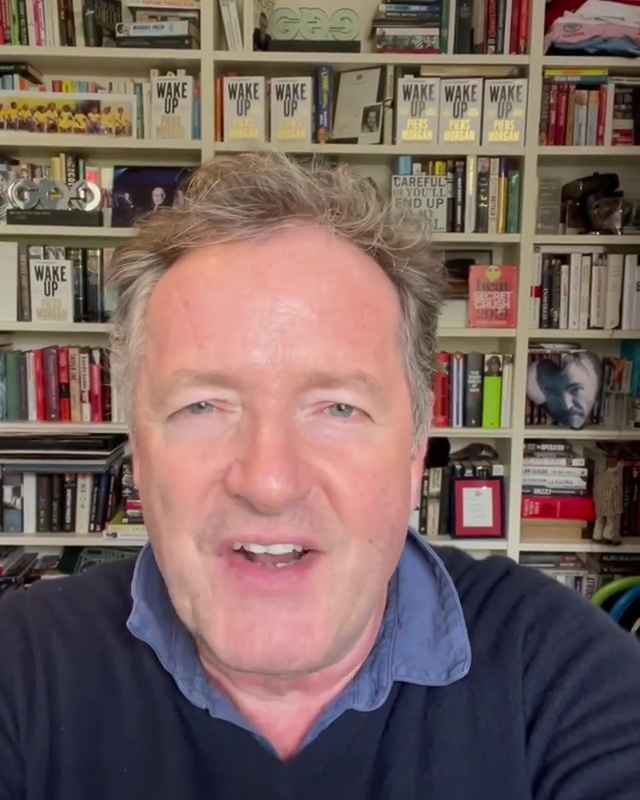 Piers took to Twitter to ask fans to buy his new book