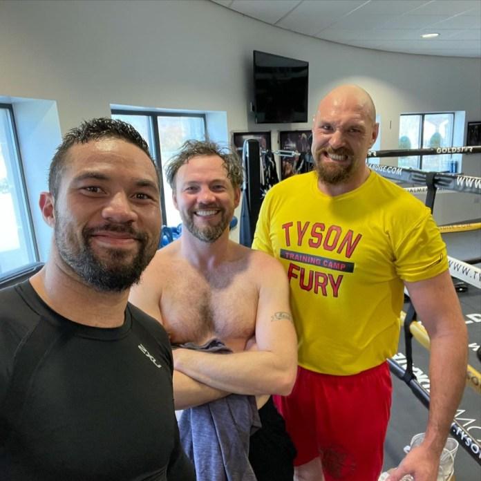 Tyson Fury has been training with former WBO heavyweight champion Joseph Parker