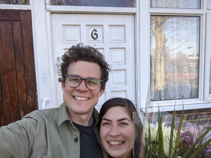 Charlie and Anna are currently renovating their home in Sydenham