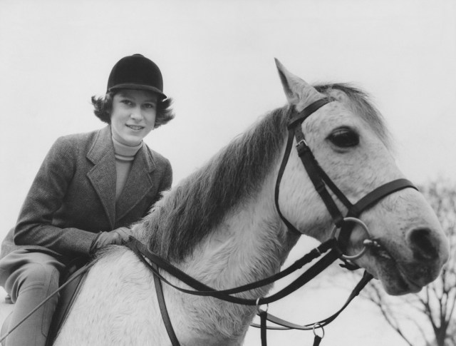 Elizabeth's passion for horses began aged three-and-a-half