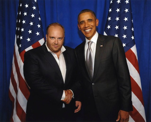 Images emerged in the media of Vitaliy posing with former US President Barack Obama
