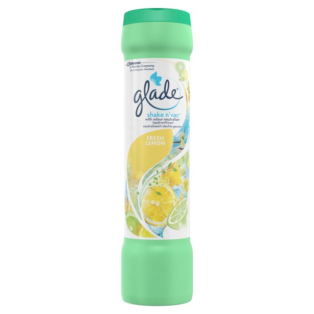...but the Glade Shake 'n' Vac for £1 from Tesco also really does the job well