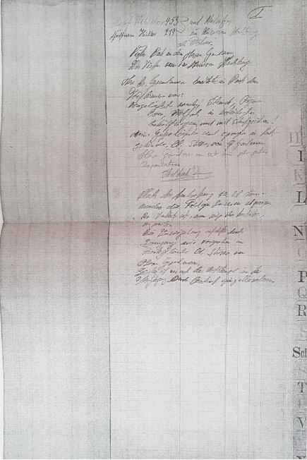 The pencil-written diary entries are believed to be written by a high-ranking SS officer under the alias Michaelis
