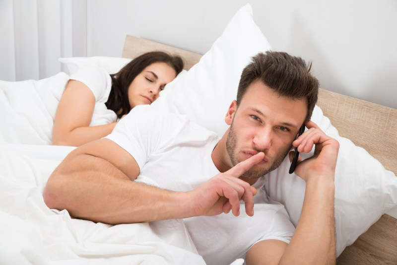 Would you cheat on your other half if you knew you wouldn't get caught?