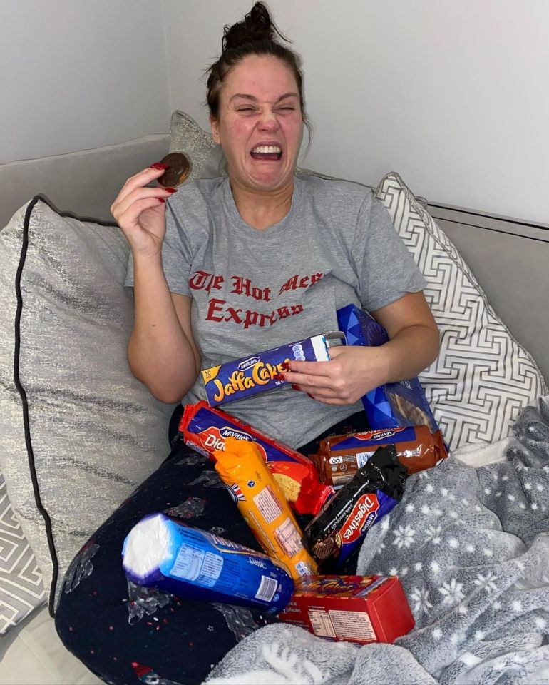 Vicky admits she comfort ate to get herself through the pandemic