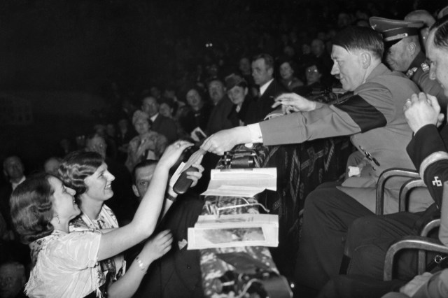 Mass rallies were a form of sexual pleasure for Hitler