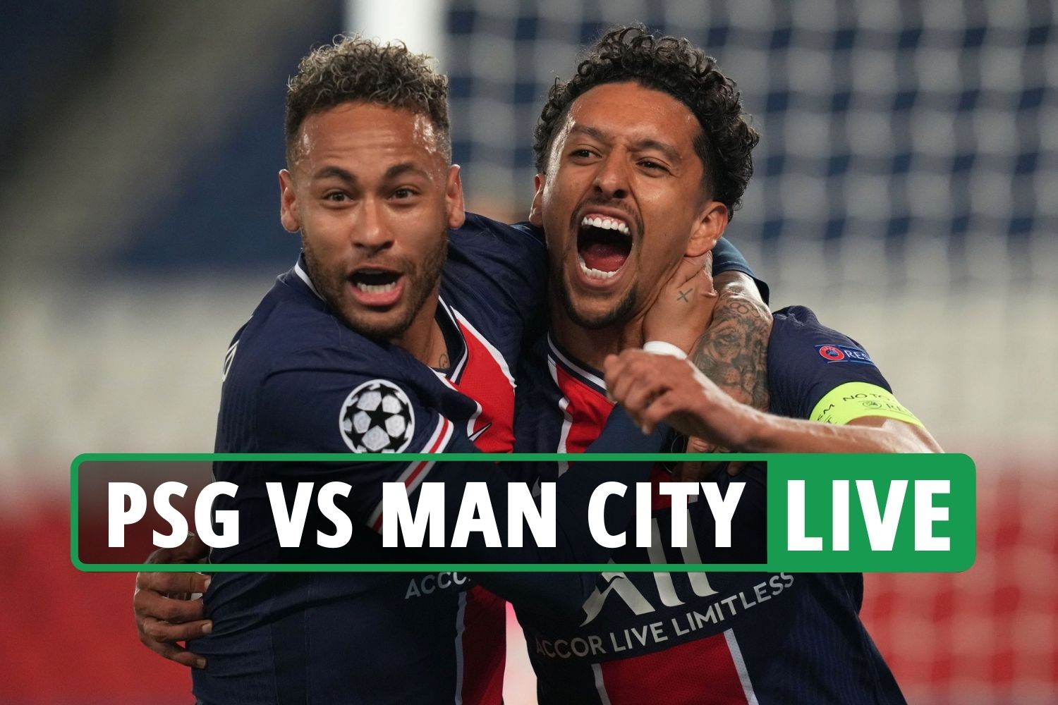 PSG vs Man City LIVE: Stream FREE, score, TV channel as French side LEAD in  Paris