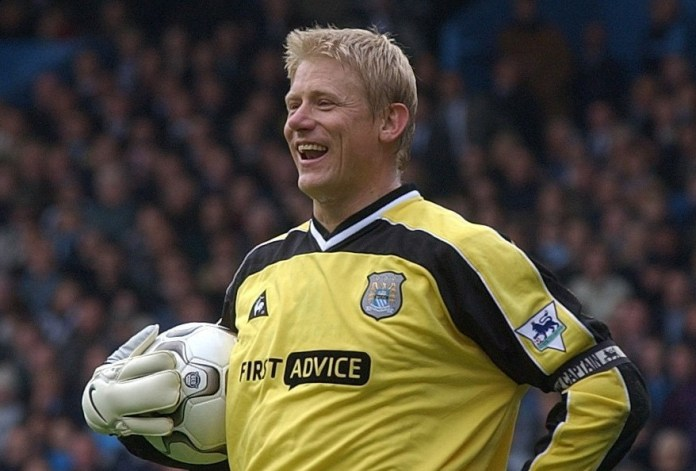 Peter Schmeichel also signed for City having made himself a Red Devils legend