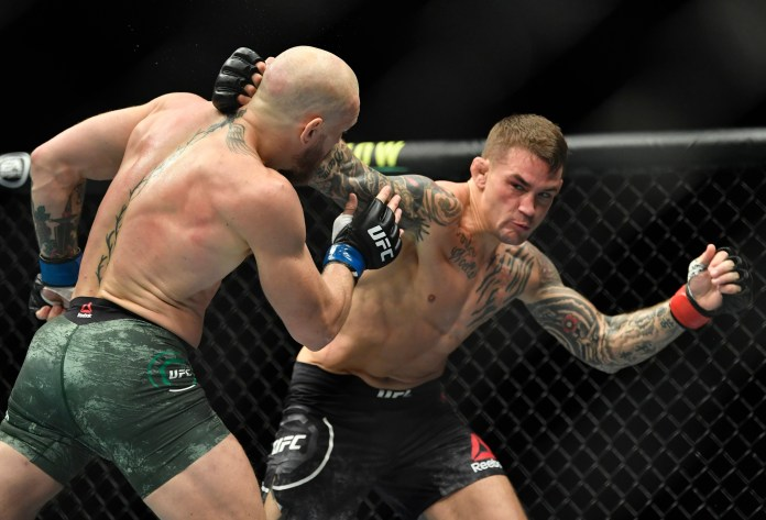 Conor McGregor was beaten by Dustin Poirier