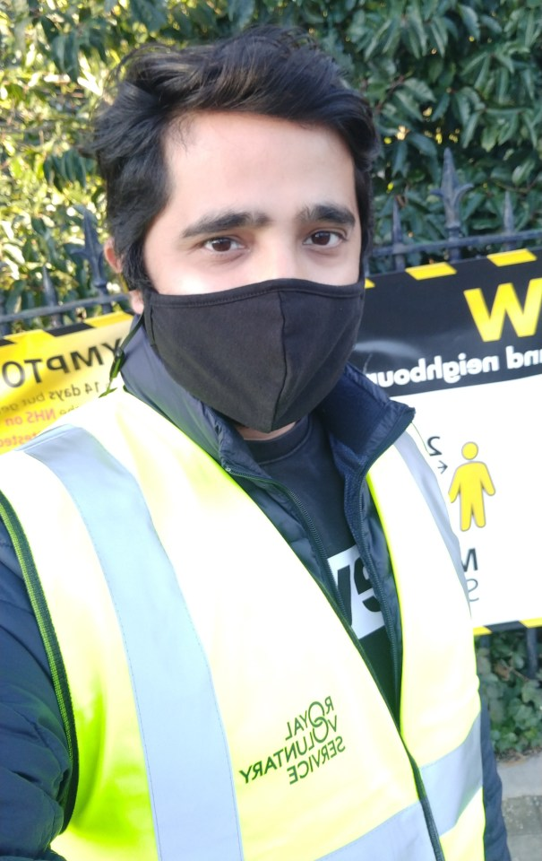 Angad Shukla has enjoyed his Jabs Army role as a vaccine volunteer
