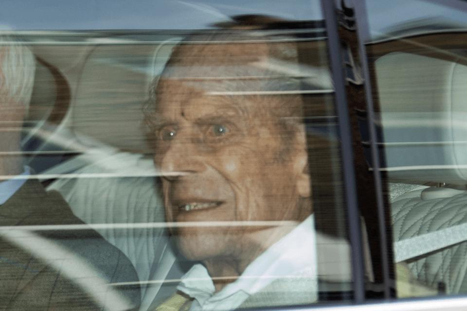 Prince Philip death - Final pic of Duke of Edinburgh as he ...