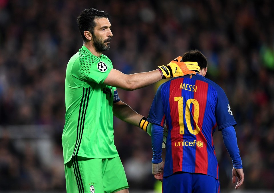 Gianluigi Buffon could link up with Lionel Messi at Barcelona this summer