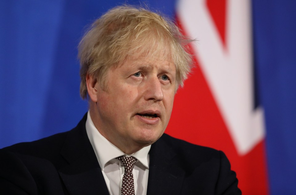 Boris Johnson has given the nod to indoor drinking, hols and overnight stays from next Monday