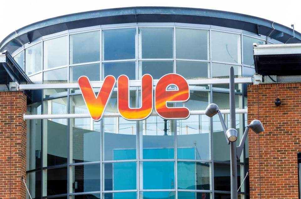 All Vue cinemas in England, Scotland and Wales will be open from May 17