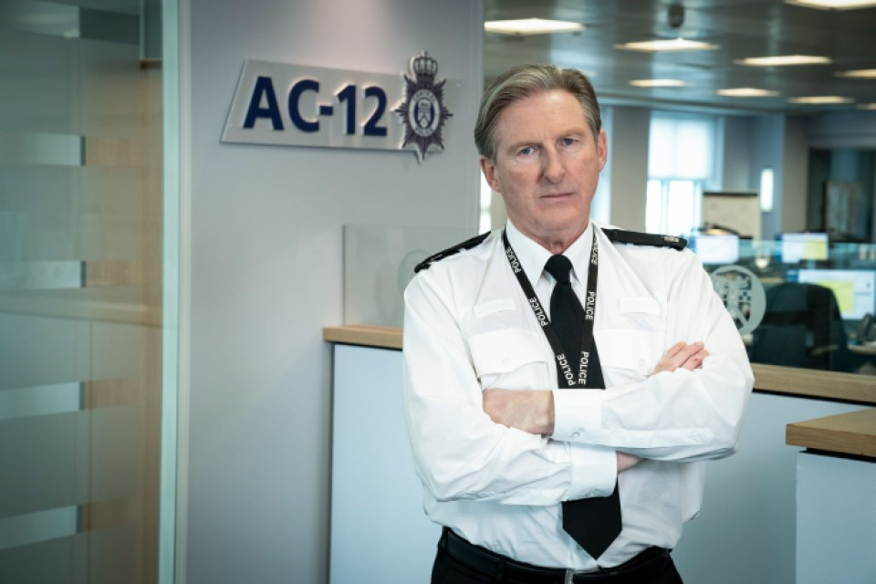 Ted Hastings has been replaced by Patricia Carmichael