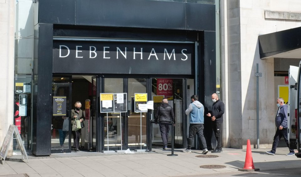 The last remaining Debenhams stores are shutting their doors for good today