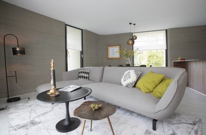 Inside, the amazing property looks like any other modern home