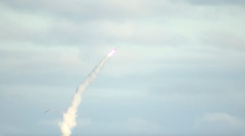 Missile firing from theSeverodvinsk