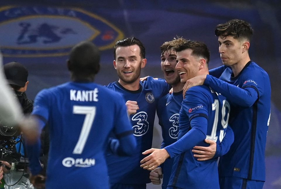 Chelsea reached the final by beating Real Madrid over two legs