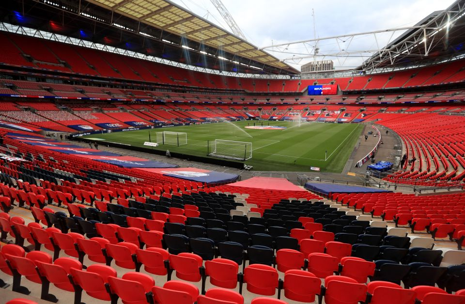 This year's Champions League final could be moved to Wembley