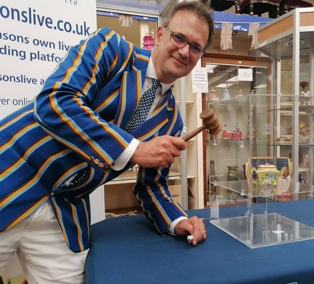 BBC expert Charles Hanson said the 18th Century item was the 'most important' item he has ever sold