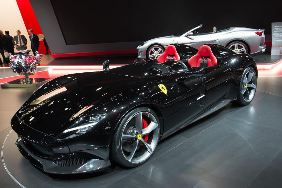 Ronaldo has treated himself to a limited edition Ferrari Monza that costs a whopping £1.4million