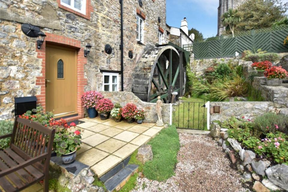 The stunning property was converted from a mill