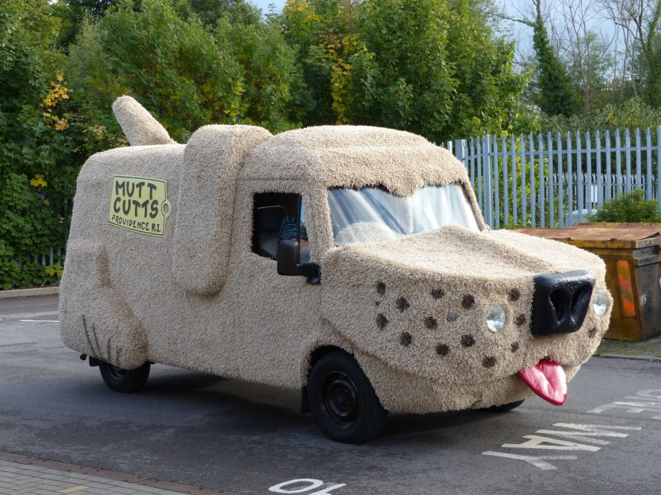 Mark, from Ascot, also owns a car from the 1994 film Dumb and Dumber