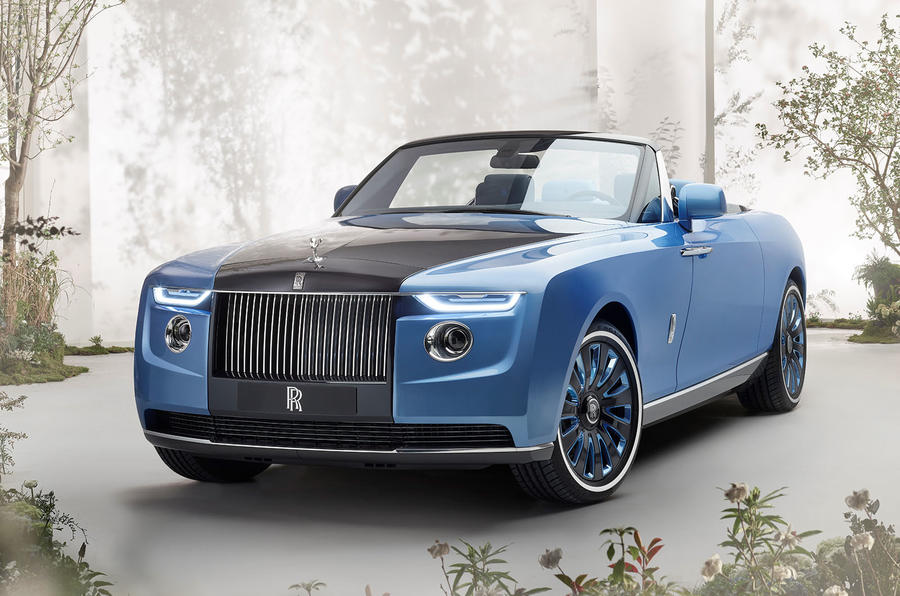 Rolls-Royce has made the world's most expensive car — the £20million Boat Tail