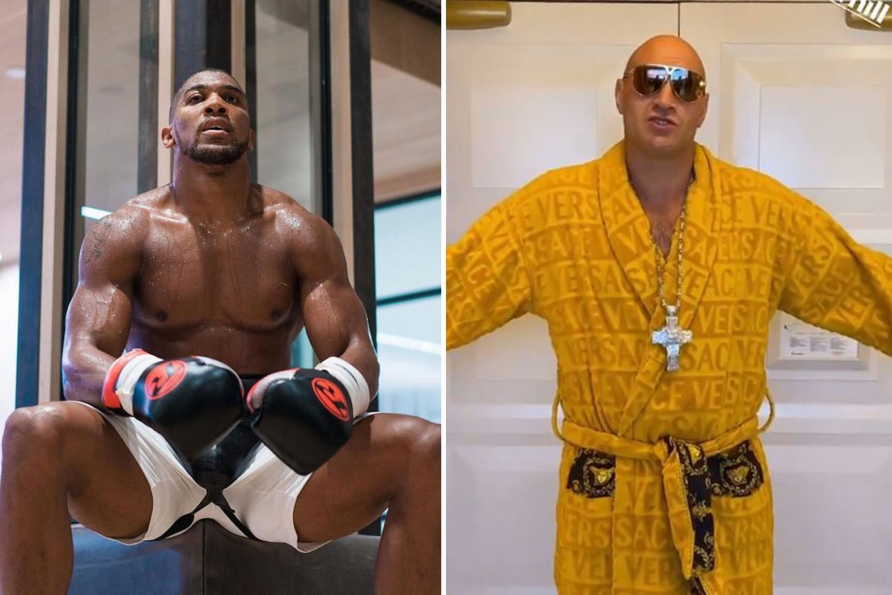 """Tyson Fury - Turned to Joshua: """"Are you ready for war, pussy?"""""""