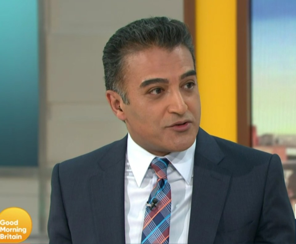 Actor and comedian Adil Ray joined Susanna on GMB today