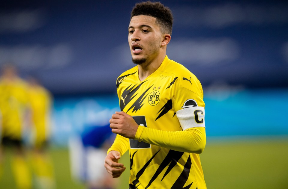 Borussia Dortmund forward Sancho is understood to be close to joining the Red Devils
