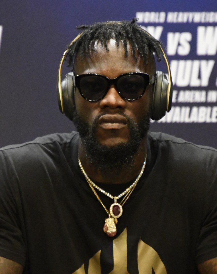 Former WBC king Deontay Wilder believes Usyk has a chance of beating AJ at the Tottenham Hotspur Stadium