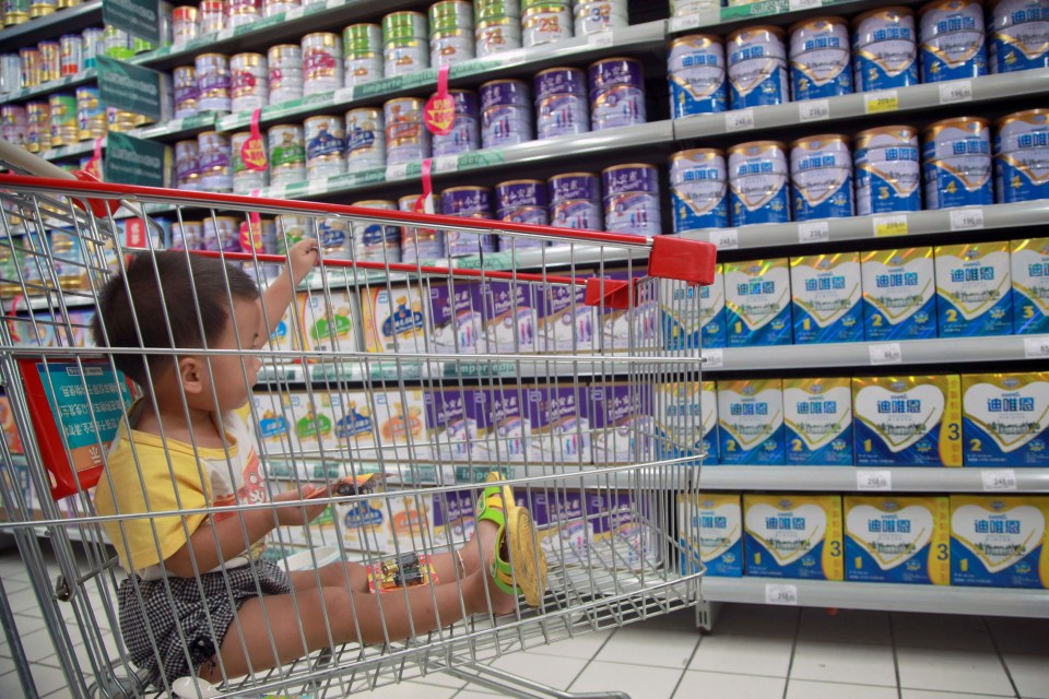Parents are paying £13 extra a week for branded formula baby milk which contains identical nutrients to basic powders, the Sun found