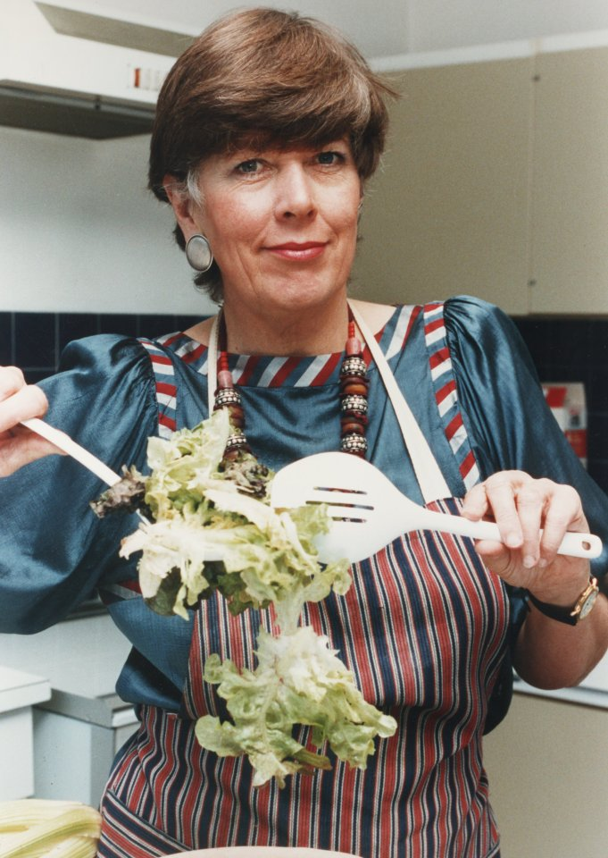 Prue penned a number of cookbooks, recipe columns and more during her career