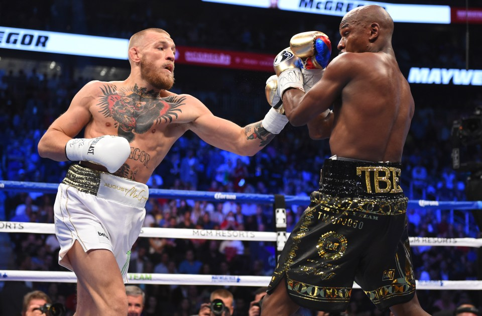 Conor McGregor entered the boxing world in 2017 for a bout with Floyd Mayweather
