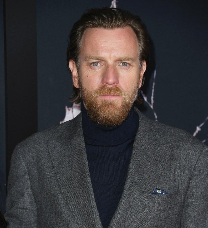 Star Wars actor Ewan McGregor at a movie premiere in LA back in 2019