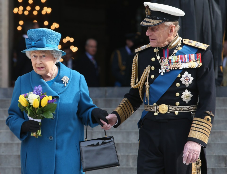 The Queen is coping 'incredibly well' after the death of her husband