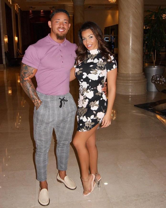 Ashley with partner Safia