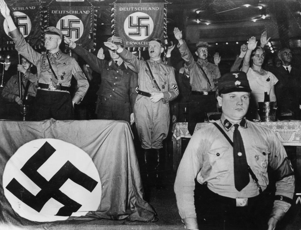 Under a 1947 Austrian law, anyone caught glorifying Nazism could face jaul time