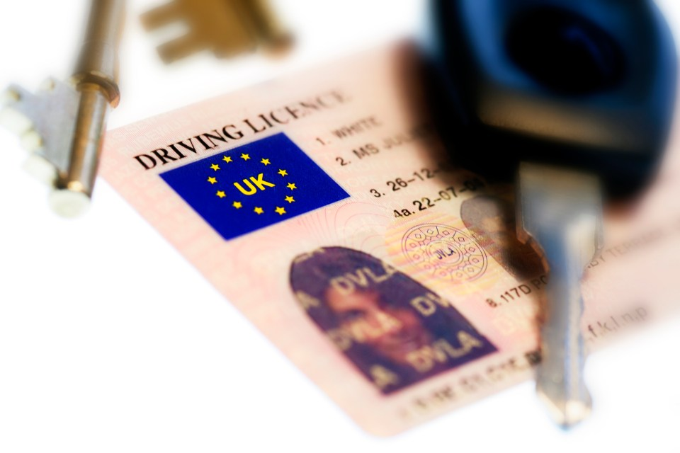 Drivers must keep their licence details up to date