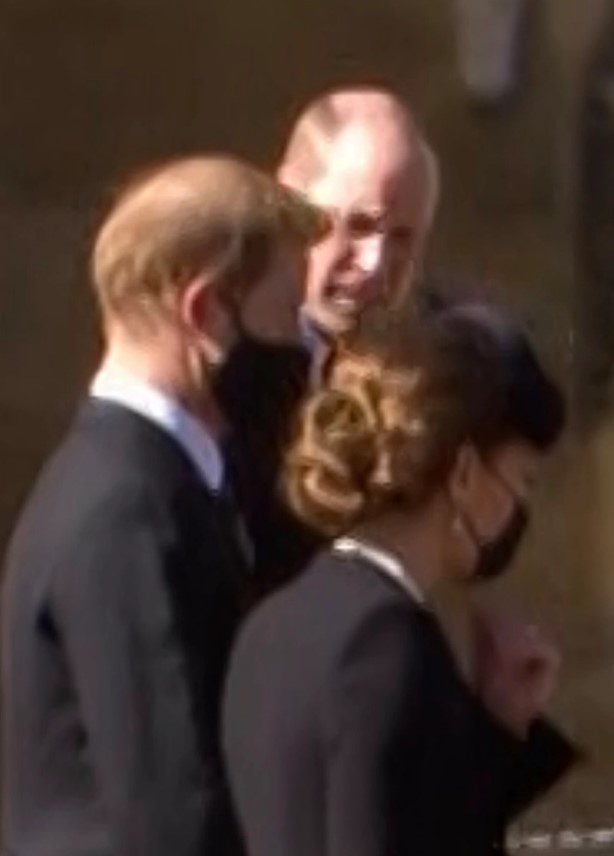 Millions of royal fans had hoped for a reconciliation after the Dukes were seen talking with peacemaker Kate after the service in April