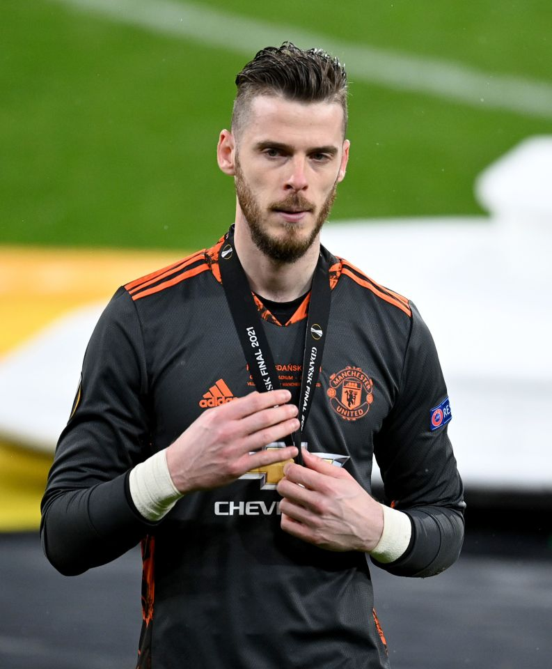 David de Gea is still United's biggest earner but lost his place at times last season