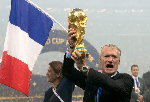 Deschamps' side won the World Cup in 2018 and are one of the favourites this summer
