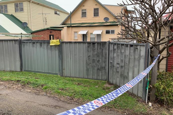 Police are investigating after the shooter fled the scene on foot