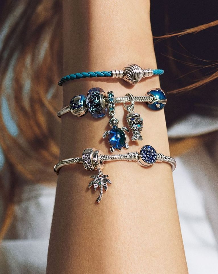 The jewellery brand recently unveiled the sea-themed pieces on Instagram