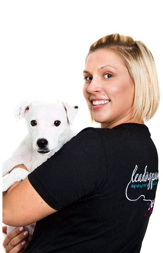 Lizzie Benge says: 'We've seen a huge surge in demand for our events and our puppy classes are selling out soon after they go online'
