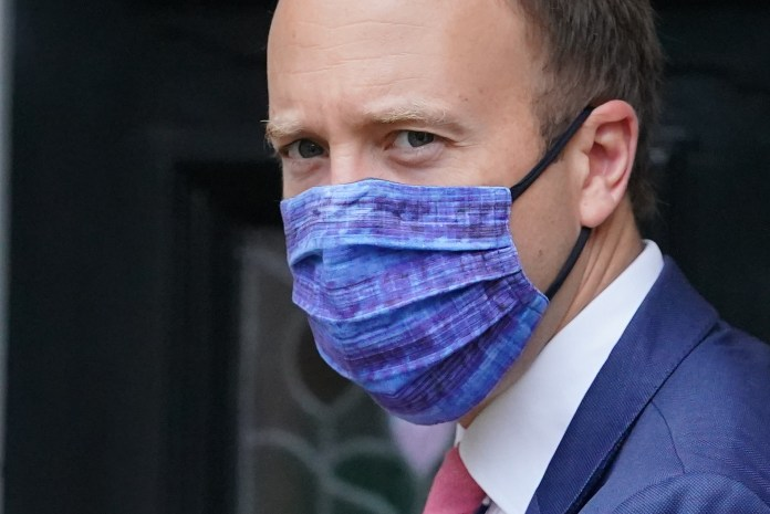 The Health Secretary said this winter would be hard thanks to both viruses