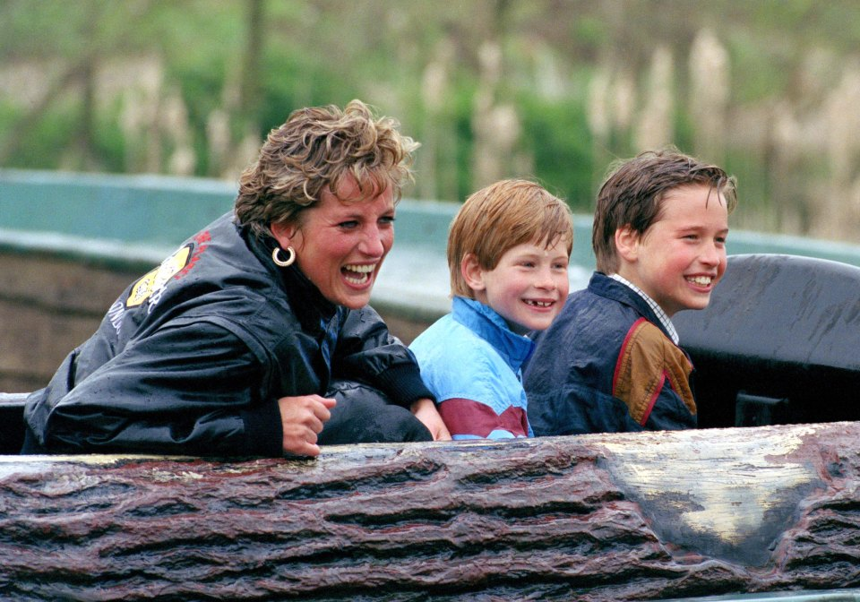 Princess Diana made brothers Harry and William promise to be best friends